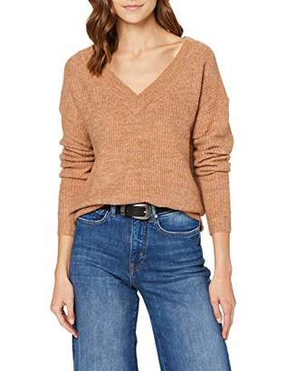 Only Women's Onlmirna L/s V-Neck Pullover KNT Jumper,10 (Size: Small)