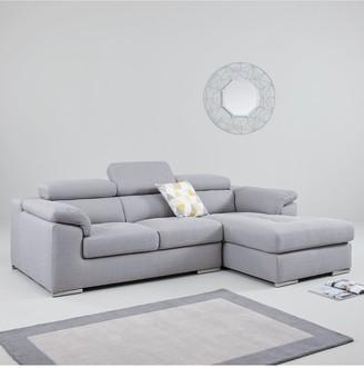Brady 3 Seater Right Hand Fabric Corner Chaise Sofa