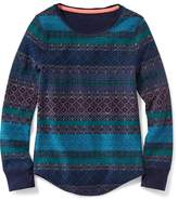 Old Navy Long & Lean Thermal Scoop-Neck Top for Girls