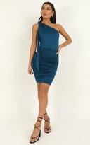 Showpo Im a seasoned dame dress in teal - 4 (XXS) Dresses