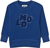 Molo Monaco Blue Mortimer Sweatshirt