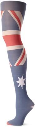 Pretty Polly Women's Australia Flag Tight