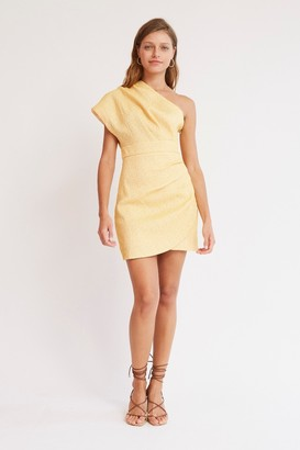 Finders Keepers MONA MINI DRESS Butter W White