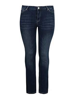 Junarose Women's Onlroberta S/s V-Neck Top WVN Slim Jeans,20 (Size: )