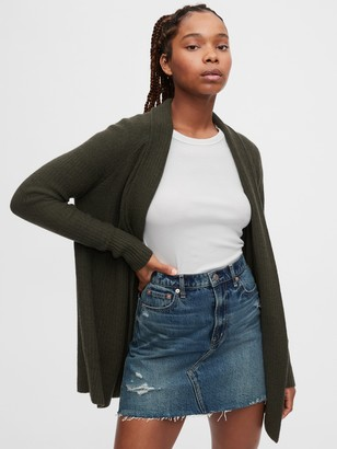 Gap True Soft Open-Front Cardigan