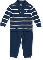 Ralph Lauren Two-Piece Velour Set