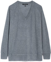 Judith & Charles Billie V-Neck Wool Pullover Sweater