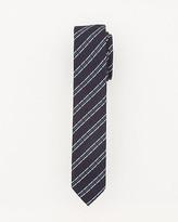 Le Château Plaid Skinny Tie