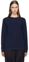 Blue Blue Japan Indigo Yarn-dyed Sweatshirt