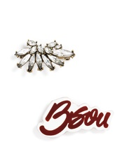 BaubleBar Bisou Brooch Duo