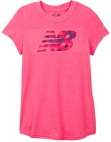 New Balance Short Sleeve Graphic Tee (Little Girls & Big Girls)