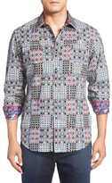 Robert Graham 'Volto' Regular Fit Sport Shirt