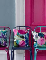 Bluebellgray Chloe Rectangular Watercolour Print Pillow