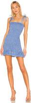 Amanda Uprichard X REVOLVE Amara Smocked Mini Dress