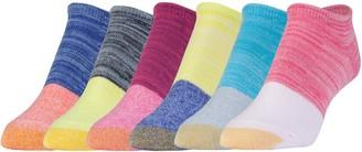 Gold Toe Women's Six-Pack Jersey Socks
