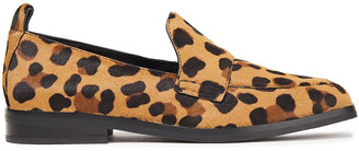 3.1 Phillip Lim Alexa Leopard-print Calf Hair Loafers