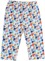 Zutano Mighty Dog Pants (Baby) - Multicolor-6 Months