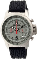 Breed Silver & Gray Nash Chronograph Watch