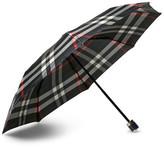 Burberry Checked Travel Umbrella