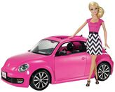 Barbie VW Beetle Car & Doll Set