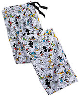 Disney Mickey Mouse and Friends Comic Strip Lounge Pants for Men