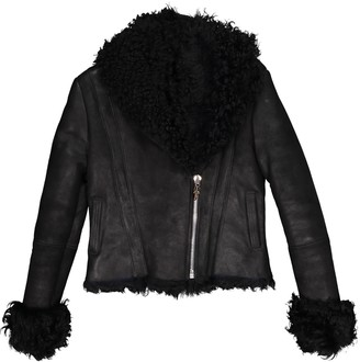 Chrome Hearts Black Suede Jacket for Women