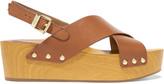 Sam Edelman Bentlee leather platform sandals