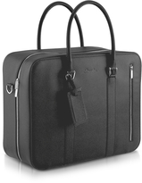 Pineider City Chic - Double Handle Calfskin Briefcase