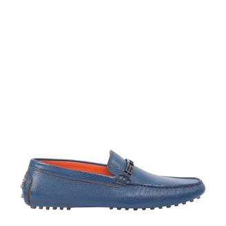 Etro Loafers With Logo Band