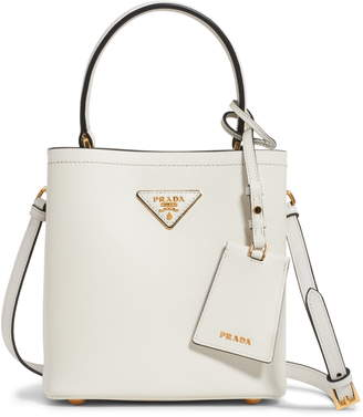 Prada Small Saffiano Leather Bucket Bag