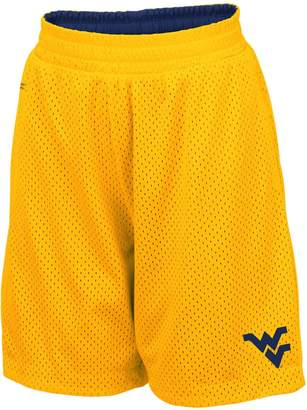 Colosseum Youth Gold West Virginia Mountaineers Field Trip Reversible Shorts