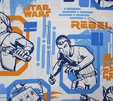 Disney Star Wars Rebels Fight (FLAT SHEET ONLY) Size TWIN Boys Girls Kids Bedding