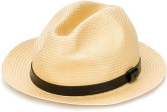 Emporio Armani Logo Fedora Hat