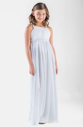 Us Angels Sleeveless Chiffon Dress