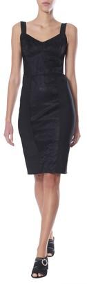 Dolce & Gabbana Lace Pattern Fitted Dress