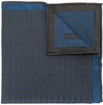 Brioni All-Over Pattern Handkerchief