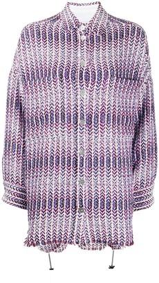 IRO Woven Oversized Shirt