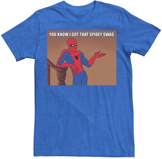 Men's Marvel Spider-Man You Know I Got That Spidey Swag Graphic Tee