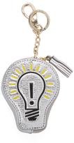 Anya Hindmarch Light Bulb Metallic Leather Coin Purse