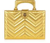 Gucci Broadway metallic-leather clutch
