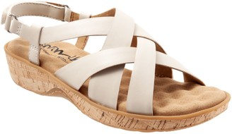 SoftWalk Leather Multi-Strap Sandals - Bonaire