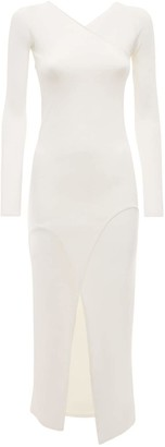 Dion Lee Shadow Inverse Viscose Blend Knit Dress