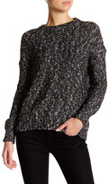 Michael Stars Back Cutout Pullover Sweater