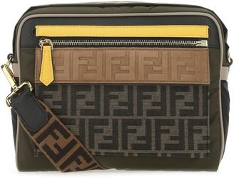 Fendi FF Motif Messenger Bag