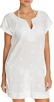 Tommy Bahama Embroidered Tunic Swim Cover-Up