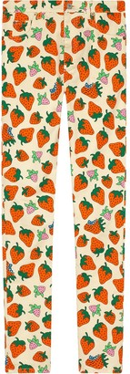 Gucci Skinny pant with Strawberry print
