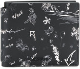 Lanvin printed wallet - men - Bos Taurus - One Size