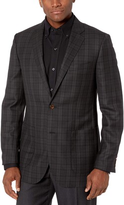 Buttoned Down Men's Standard Classic-Fit Italian Wool Sport Coat