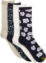 Gold Toe Women's 4-Pk. Painted Floral Socks