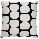 Judy Ross Textiles Tabla Pillow Black/Cream